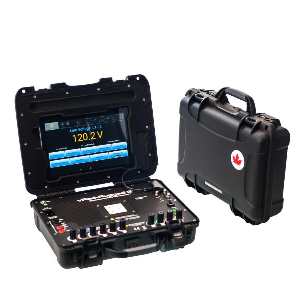 Datrend Systems vPad-Rugged 2 Electrical Safety Analyzer