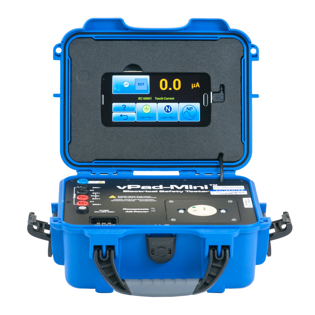 Datrend Systems Vpad-Mini™ Manual Electrical Safety Analyzer