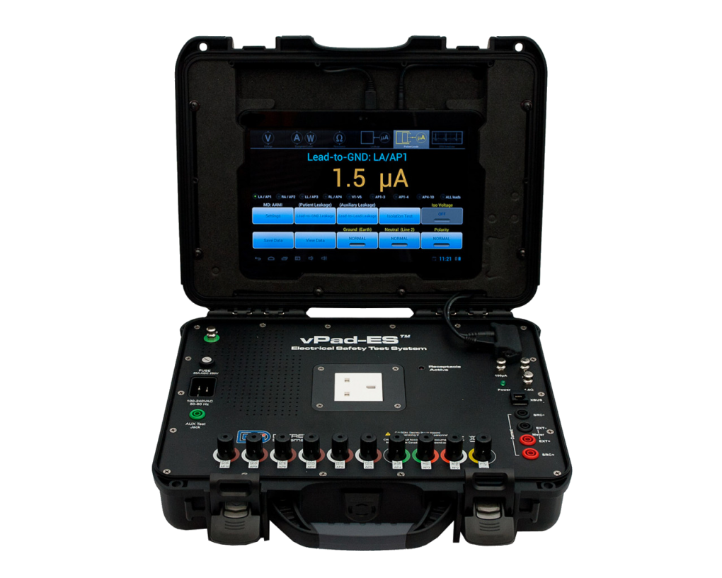 Datrend Systems launches a ruggedized version of their vPad-ES™ Electrical Safety Analyzer