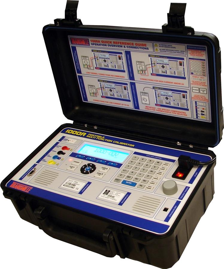 Transmille Ultra Portable Multi Product Calibrator, Model 1000