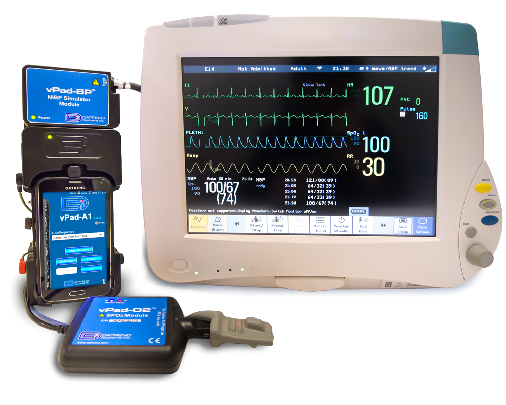 Datrend Systems vPad-A1 Vital Signs Simulator