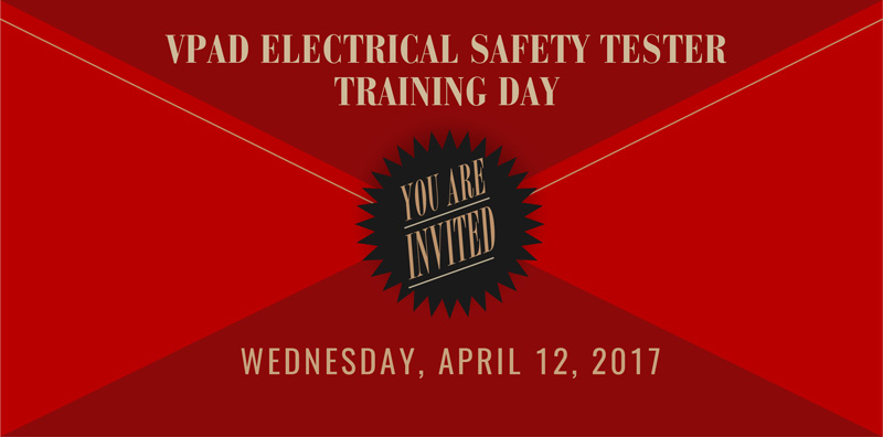 vPad Electrical Safety Tester Training Day