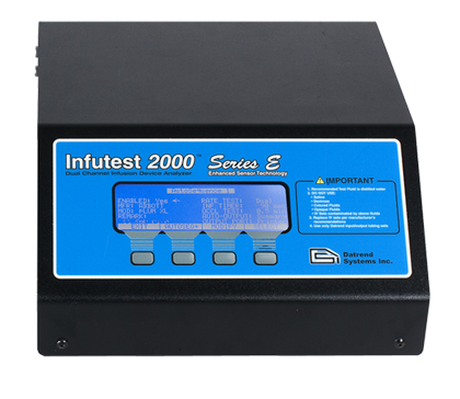 Datrend Systems Infutest 2000 Infusion Device Inspection