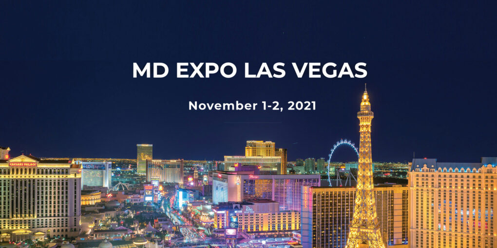 Join your colleagues at MD Expo this November in Las Vegas!